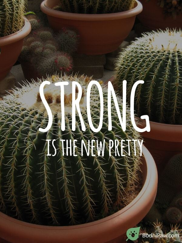 Strong is the new pretty - Feminism Quote - Quote for Her